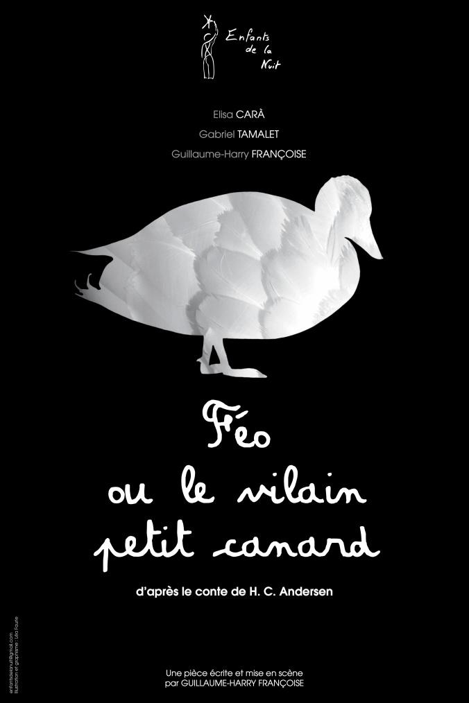 Affiche-Feo ou le vilain canard-40x60-BD