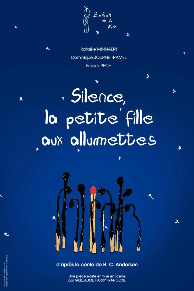 Affiche Silence La petite fille aux allumettes